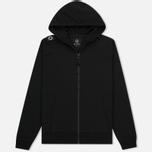 Мужская толстовка MA.Strum Patton Pouch Pocket Zip Through Hooded Jet Black фото- 0