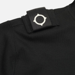 Мужская толстовка MA.Strum Patton Pouch Pocket Zip Through Hooded Jet Black фото- 4