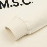 Мужская толстовка MA.Strum Totham M.S.C.17 Crew Neck Merchant White фото- 3