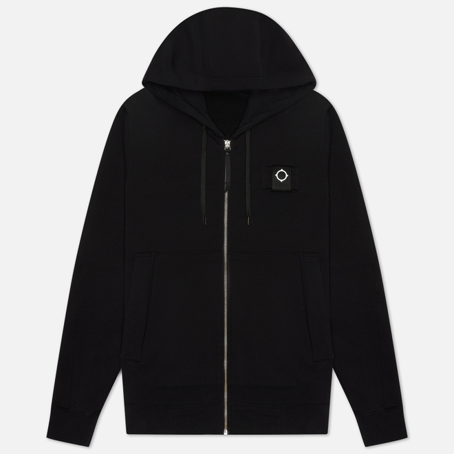 Мужская толстовка MA.Strum Training Full Zip Hoody Jet Black