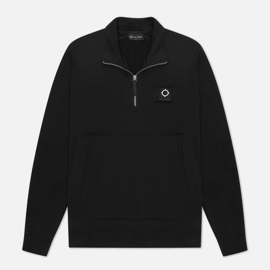 Мужская толстовка MA.Strum Training Quarter Zip Jet Black
