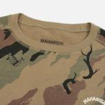 Мужская толстовка maharishi Dragons Camouflage Crew Vintage Archive Woodland Camo фото- 1
