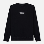 Мужская толстовка maharishi Heaven And Hell Crew Neck Black фото- 0
