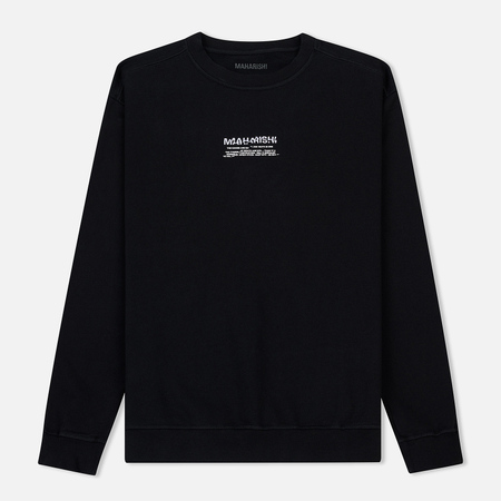 Мужская толстовка maharishi Heaven And Hell Crew Neck Black