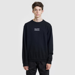 Мужская толстовка maharishi Heaven And Hell Crew Neck Black фото- 1