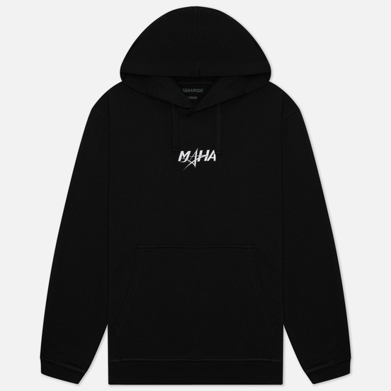 Мужская толстовка maharishi Maha Organic Hooded Black