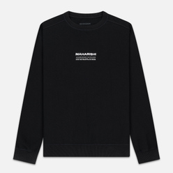 Мужская толстовка maharishi Organic Crew Military Type Embroidery Black