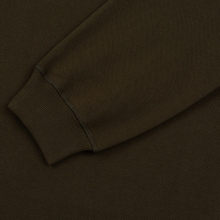 Мужская толстовка maharishi Organic Crew Military Type Embroidery Military Olive фото- 3