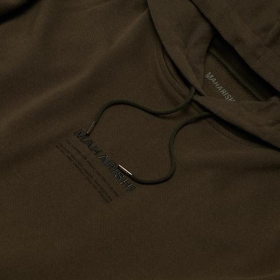 Мужская толстовка maharishi Organic Hooded Military Type Embroidery Military Olive