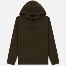 Мужская толстовка maharishi Organic Hooded Military Type Embroidery Military Olive фото- 0