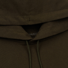 Мужская толстовка maharishi Organic Hooded Military Type Embroidery Military Olive фото- 1