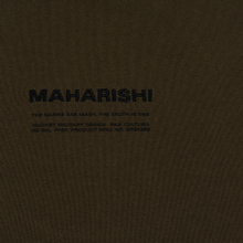 Мужская толстовка maharishi Organic Hooded Military Type Embroidery Military Olive фото- 2