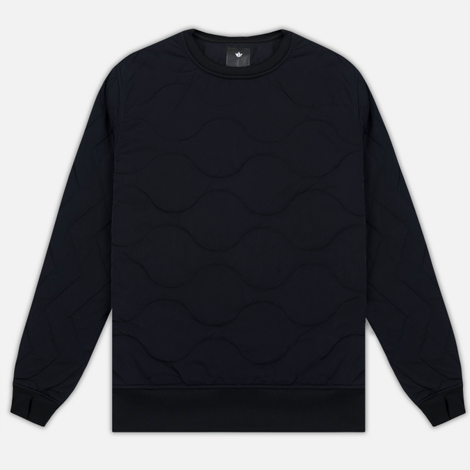Мужская толстовка maharishi Quilted Crew Sweat Black