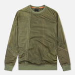 Мужская толстовка Maharishi Recyled Vintage Parachute Mixed Olives фото- 0