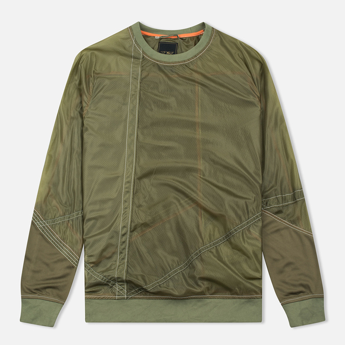 Мужская толстовка Maharishi Recyled Vintage Parachute Mixed Olives