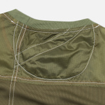 Мужская толстовка Maharishi Recyled Vintage Parachute Mixed Olives фото- 3