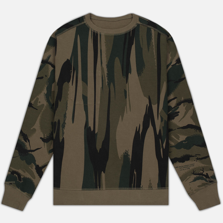 Мужская толстовка maharishi Reversible Camo Crew Neck Jungle Camouflage