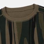 Мужская толстовка maharishi Reversible Camo Crew Neck Jungle Camouflage фото- 2