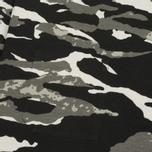 Мужская толстовка maharishi Reversible Camo Crew Tigerstripe Murale Black фото- 2