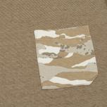 Мужская толстовка maharishi Reversible Camo Crew Tigerstripe Murale Naturale фото- 5