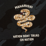 Мужская толстовка maharishi Snakes Camouflage Crew Vintage Archive Night Camo фото- 2