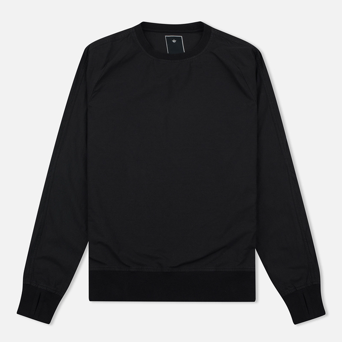 Maharishi Track Crew Neck Men`s Sweatshirt Black