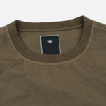 Maharishi Track Crew Neck Men`s Sweatshirt Maha Olive photo- 1