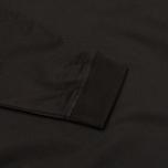 Мужская толстовка Maharishi Woven Crew Black фото- 3