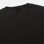 Мужская толстовка Maharishi Woven Crew Black фото- 2