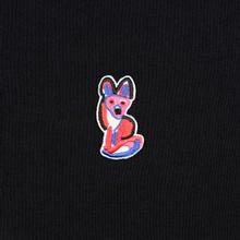 Мужская толстовка Maison Kitsune Acide Fox Patch Black фото- 2
