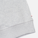 Maison Kitsune Buttoned Men's Sweatshirt Grey Melange photo- 5