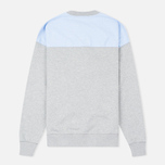 Maison Kitsune Buttoned Men's Sweatshirt Grey Melange photo- 1
