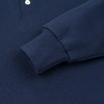 Мужская толстовка Maison Kitsune Buttoned Navy фото- 4