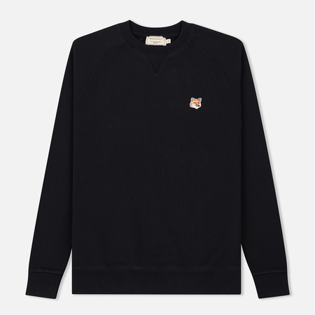 Мужская толстовка Maison Kitsune Fox Head Patch Black