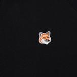 Мужская толстовка Maison Kitsune Fox Head Patch Black фото- 2