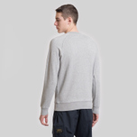 Мужская толстовка Maison Kitsune Fox Head Patch Grey Melange фото- 6