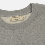 Мужская толстовка Maison Kitsune Fox Head Patch Grey Melange фото- 1