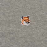 Мужская толстовка Maison Kitsune Fox Head Patch Grey Melange фото- 2