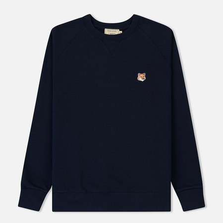 Мужская толстовка Maison Kitsune Fox Head Patch Navy