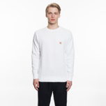 Мужская толстовка Maison Kitsune Fox Head Patch White фото- 4