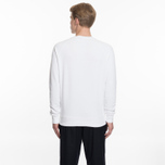 Мужская толстовка Maison Kitsune Fox Head Patch White фото- 5