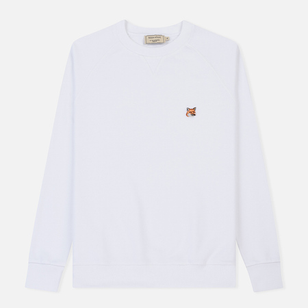 Мужская толстовка Maison Kitsune Fox Head Patch White