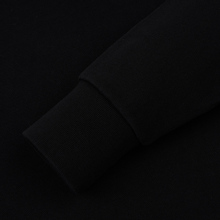 Мужская толстовка Maison Kitsune Hoodie Tricolor Fox Patch Black фото- 3