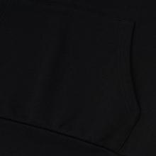 Мужская толстовка Maison Kitsune Hoodie Tricolor Fox Patch Black фото- 4