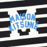 Мужская толстовка Maison Kitsune Marin Black Ecru фото- 2