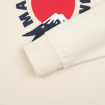 Мужская толстовка Maison Kitsune Mont Fuji Ecru фото- 3