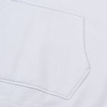 Мужская толстовка Maison Kitsune Oversize Hoodie White фото- 3