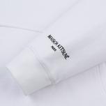 Мужская толстовка Maison Kitsune Oversize Hoodie White фото- 4