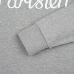 Мужская толстовка Maison Kitsune Parisien Grey Melange фото- 3