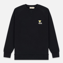 Мужская толстовка Maison Kitsune Triangle Fox Patch Black фото- 0